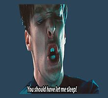 "Star trek - Khan - ""You should have let me sleep!"" by meggie1tr"