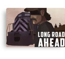 Long Road Ahead Canvas Print