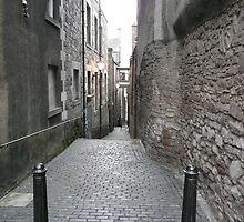 Edinburgh alleyway by Angela Nordheim