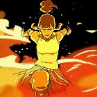 Firebending Training by Gabriel Barahona