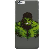 The Green Fury (green version) iPhone Case/Skin