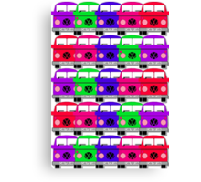 Campervan Multi Abstract No.3 Canvas Print