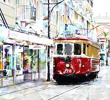Pushing the Tram by PictureNZ