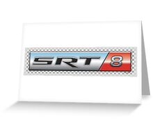 SRT 8  Greeting Card