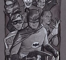 Batman TV Show Art by jasonkincaid
