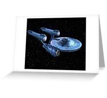 The Enterprise Greeting Card