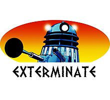 Dalek Extermination! Photographic Print