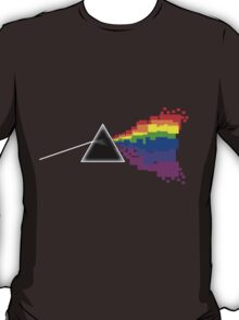 8-bit Dark Side of the Moon T-Shirt