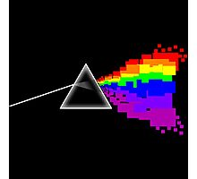 8-bit Dark Side of the Moon Photographic Print