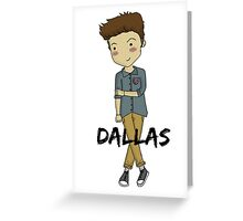 Cameron Dallas Greeting Card