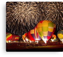 After Glow™ Fireworks Show.4 Canvas Print