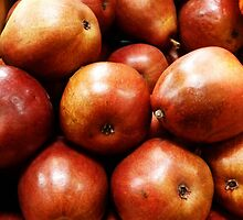 Red Pears by 2HivelysArt