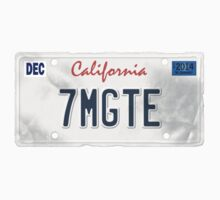 License Plate - 7MGTE by TswizzleEG