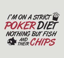Poker diet: Fish and their chips by nektarinchen