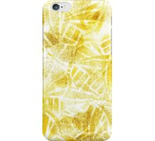 Gold butterflies iPhone Case/Skin