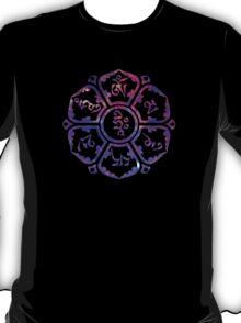 Om Mani Padme Hum - Galaxy T-Shirt