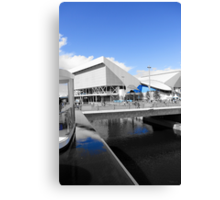 Aquatics Centre - London 2012 - Olympic Park Canvas Print