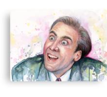 Nicolas Cage Meme You Don't Say Canvas Print