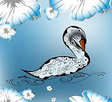 Beautiful swan by nicky2342