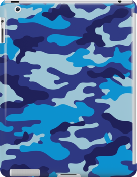 Camouflage (Blue) by MrFaulbaum