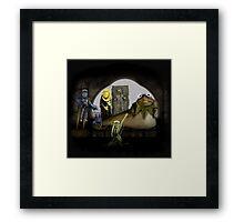 Kermit the Hutt Framed Print