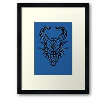 Head of the Dragon Framed Print