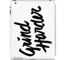 Grind Harder iPad Case/Skin