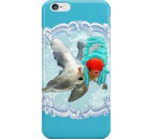 "Mozart and Marie "" A Queen in a Fish Bowl"" iPhone Case/Skin"