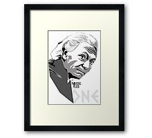 Theta Sigma One Framed Print