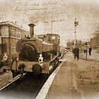 Journeys past, Cranmore station, Somerset, England, UK, by buttonpresser
