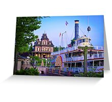 Phantom Manor and the Molly Brown Greeting Card
