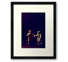 and they all live happily ever after Framed Print