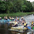 Raft racing, Bagenalstown Festival, Carlow, Ireland by buttonpresser