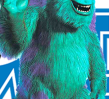 Sully Monsters Inc / University Sticker