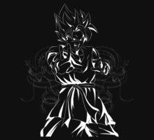 Goku & Shenron by coolz77