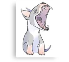 Bull Terrier 2.0 Canvas Print