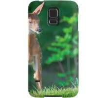 Pretty Fawn (White Tailed Deer) Samsung Galaxy Case/Skin