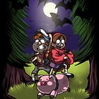 Gravity Falls by scittykitty