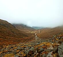 Mourne Mountains, Northern Ireland by Ludwig Wagner