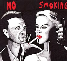 Can't You See the Sign? No Smoking by Kevin Dellinger