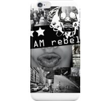 I AM REBEL iPhone Case/Skin