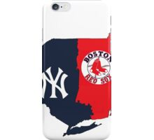 MLB Rivalry Map iPhone Case/Skin