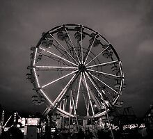 Ferris Wheel at the Fair by Irena Paluch