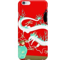 The white dragon iPhone Case/Skin