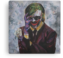 The Man Who Laughs Canvas Print