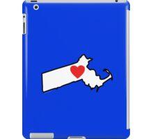 I Love Massachusetts iPad Case/Skin