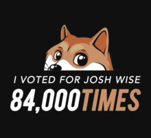 I voted for Josh Wise 84,000 times (Dogecoin) by Tabner