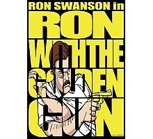 Ron With The Golden Gun Photographic Print