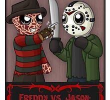 Freddy vs. Jason: Vaude-Villains by redpawdesigns
