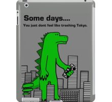 Some Days You Just Don't Feel Like Trashing Tokyo iPad Case/Skin